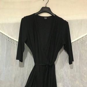 Black Wrap Eileen Fisher Dress